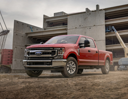 2021 Ford Super Duty F-250 XLT Crew Cab in Race Red