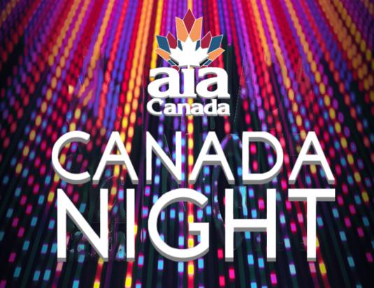 AIA Canada Night