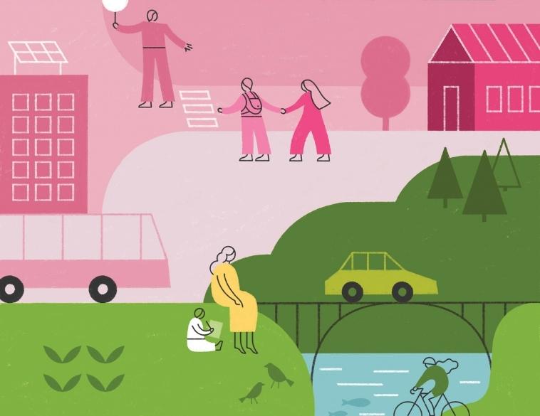 couverture du rapport de durabilité bridgestone 2021