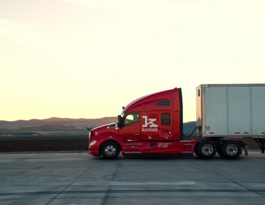 Bridgestone Kodiak Robotics AV truck investment