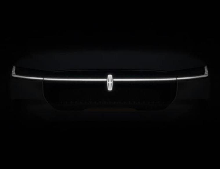 Lincoln EV SUV teaser