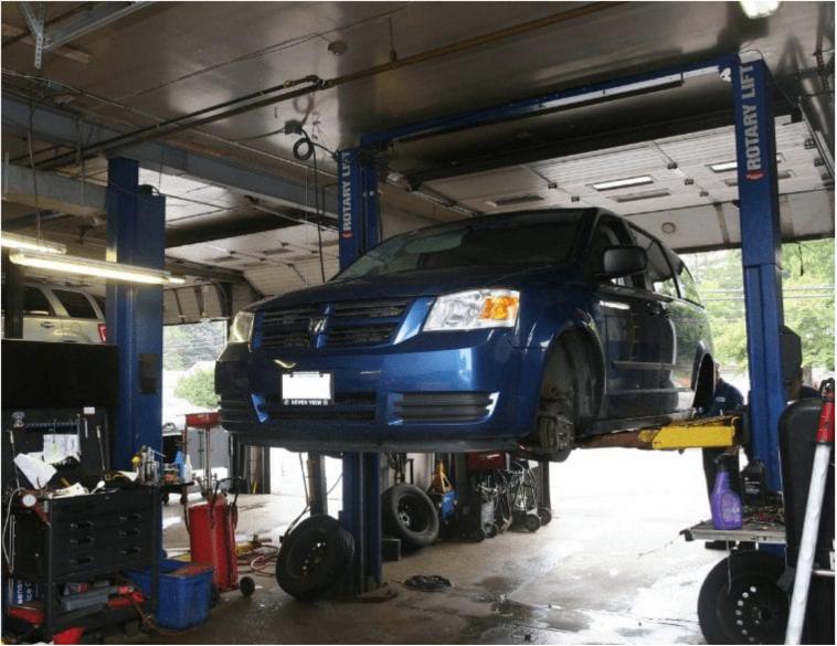 Mechanic Van Repair garage