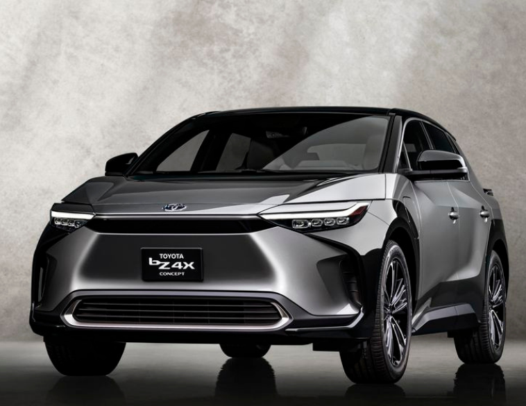 Toyota bZ4X concept SUV