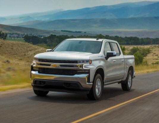 Chevrolet Silverado 2021 diesel truck