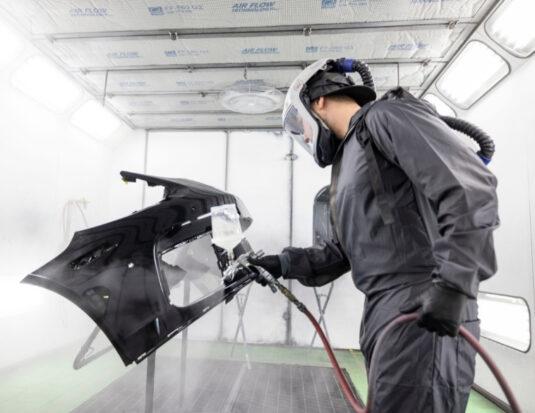 collision repair paint bumper KPI sherwin williams