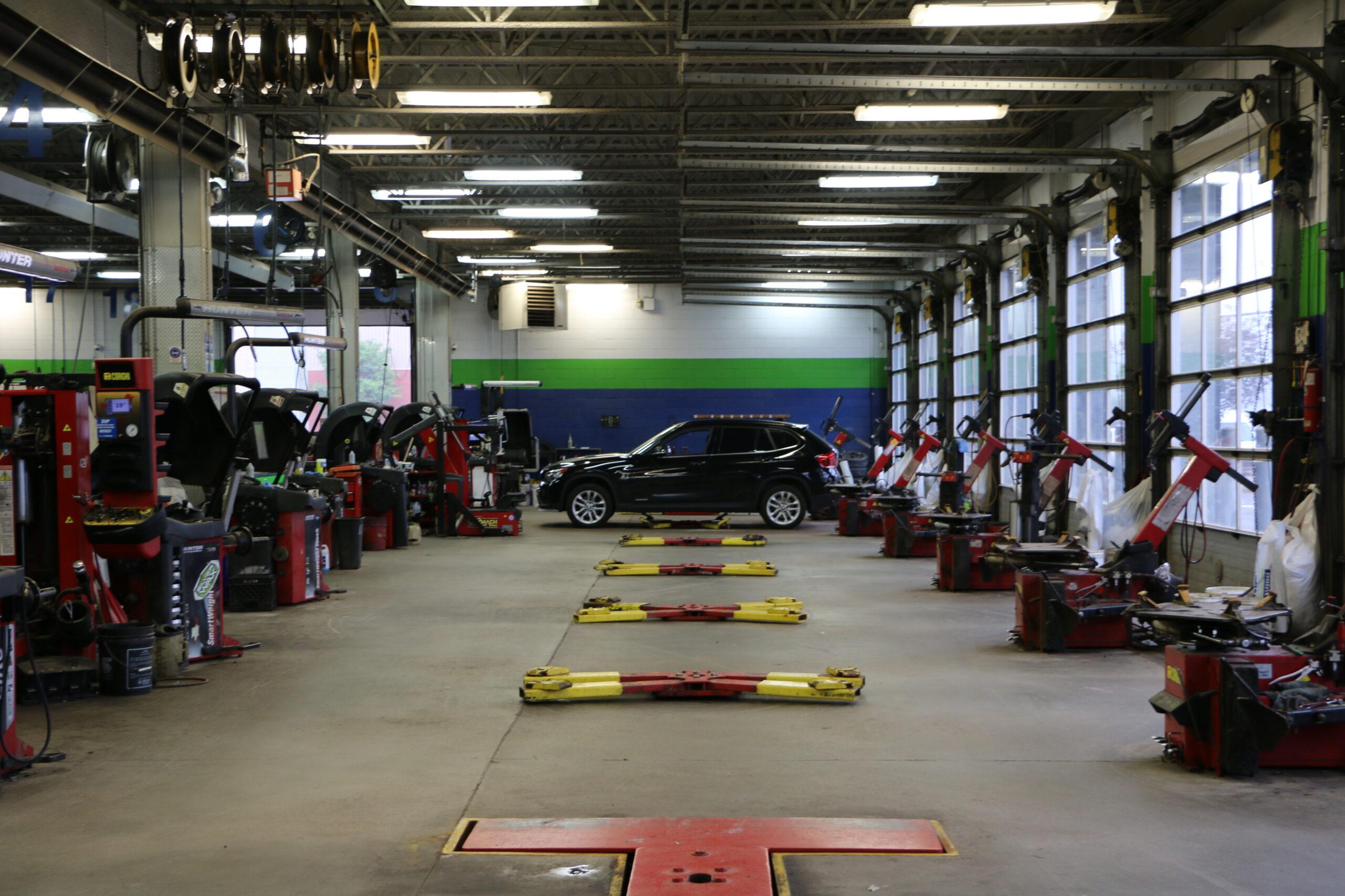 entrepris atelier de pneus