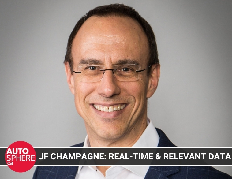 JF Champagne AIA Canada autosphere interview IHS Markit data