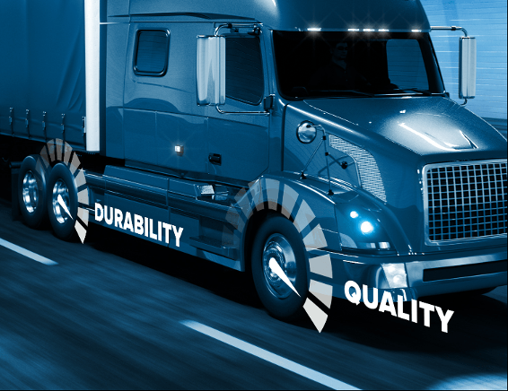 Double Coin durability quality blue truck