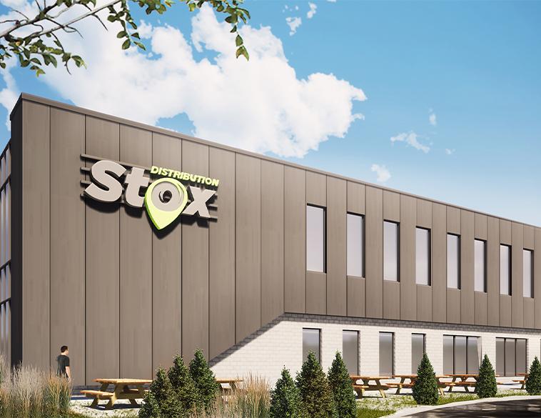 Nouveau Centre de distribution Stox au Quebec