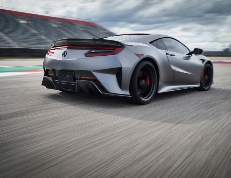 Acura NSX Type S Pirelli P Zero tire racetrack