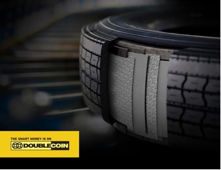 Double Coin 4 steel belt tires