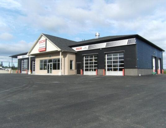 GCR tires storefront