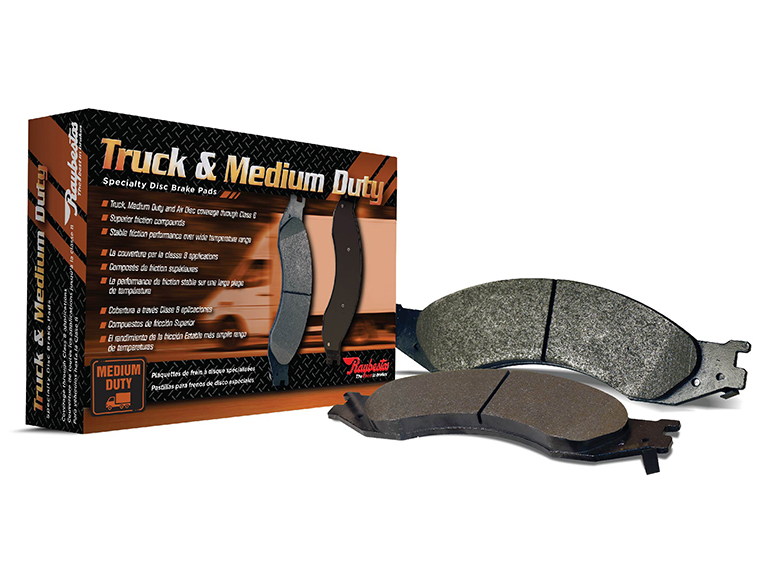 first brand raybestos truck and medium duty brake pads