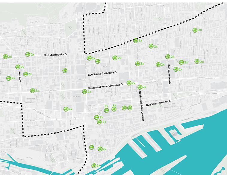 plan de la ville de mtl