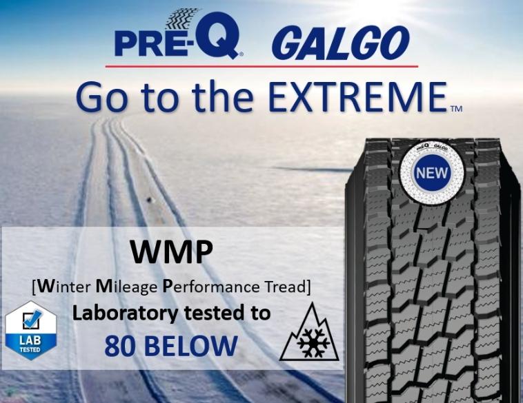 pre-q galgo corporation wmp winter tire